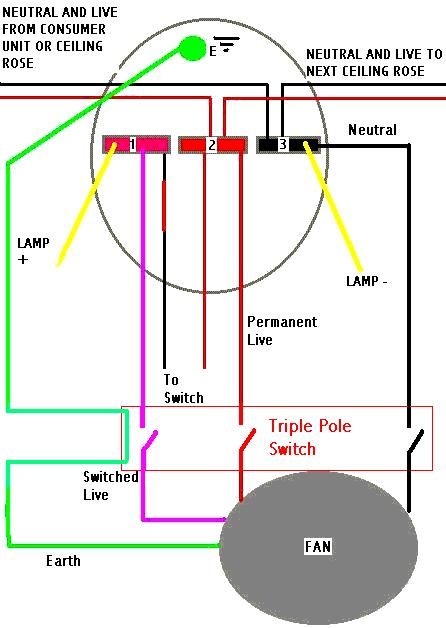 Wiring Diagram For A Timed Extractor Fan : Ultimatehandyman view topic timed bathroom