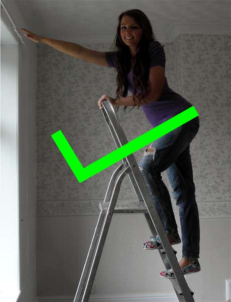 Step Ladder Safety Diy Safety
