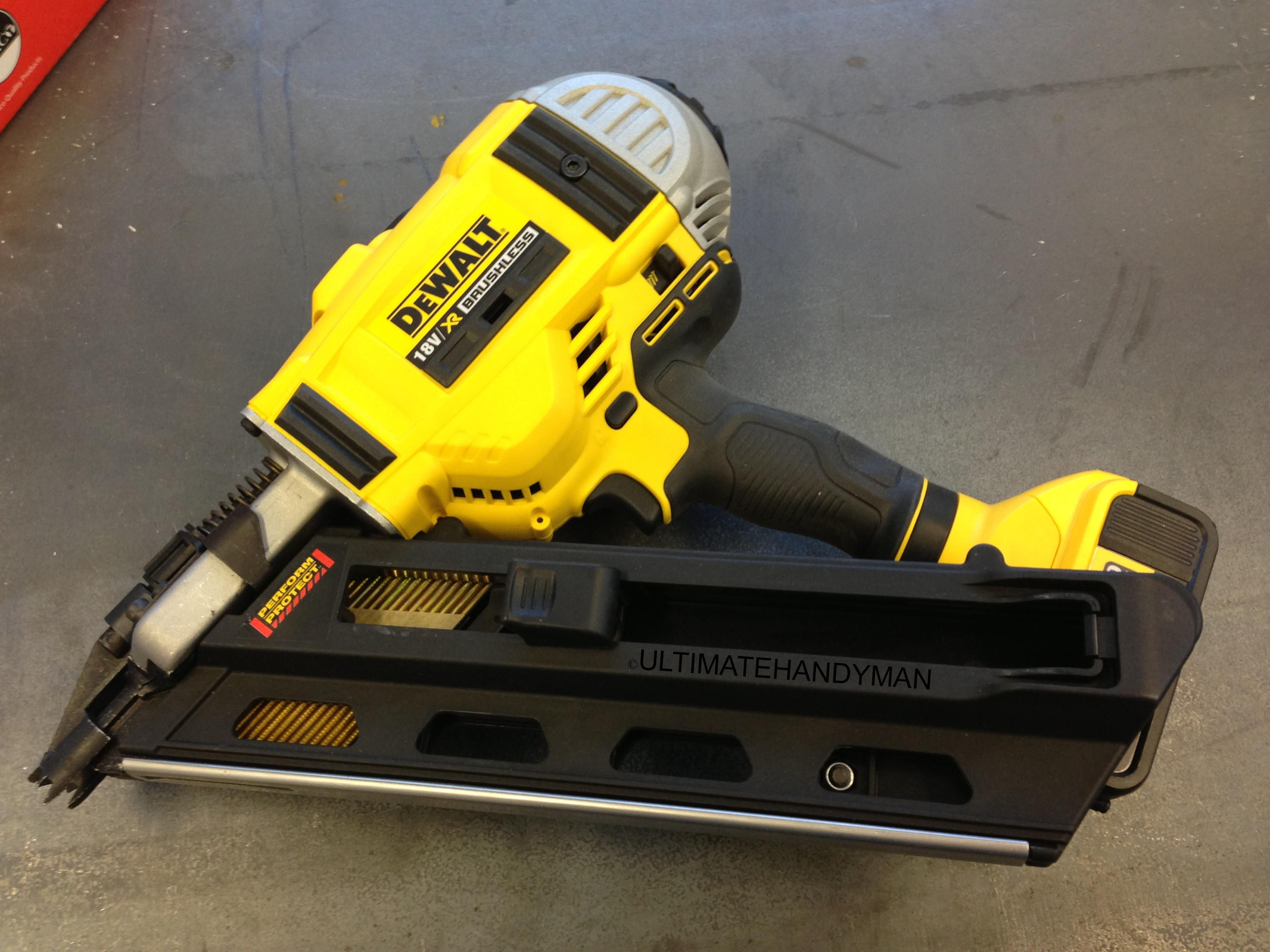 this dewalt m 16 nail gun might not look anything like the computer game version but it is able to send a 6 d nail through a 2 x 4 at 200 yards