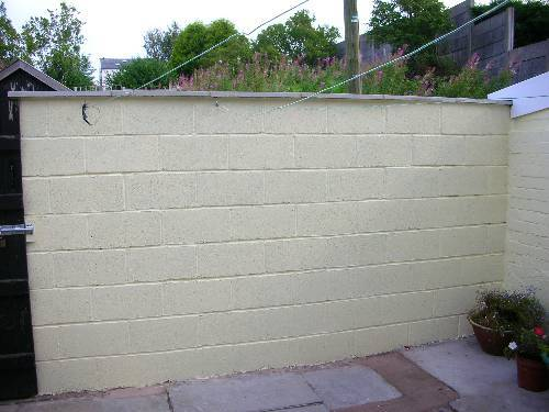 Build A Garden Wall Diy Building