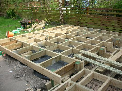 View topic 40 square metres for 2 4 metre decking boards