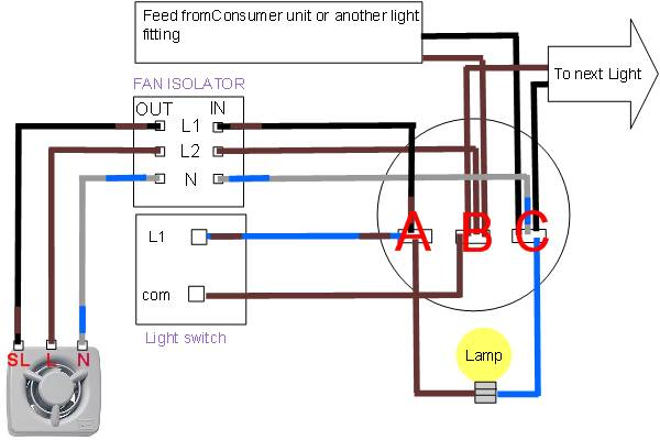 Stupendous Wiring A Bathroom Fan And Light Uk Wiring Diagram Features Download Free Architecture Designs Viewormadebymaigaardcom