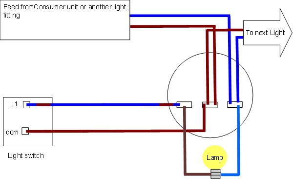 ceiling wiring diagrams harmonised colours light fitting