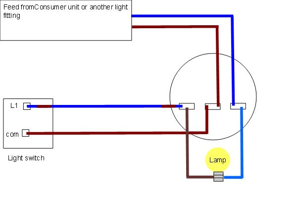 Fantastic Ultimatehandyman Co Uk View Topic Help Wiring 3 Lights To Wiring 101 Vihapipaaccommodationcom