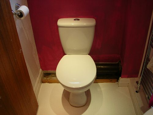 How to Fit a Toilet :  toilet toilet fitting fitting diy