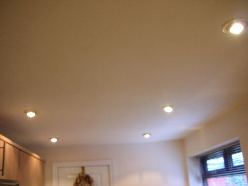 Install Downlights Light Fitting