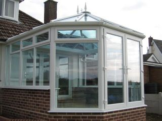 conservatory almost finished