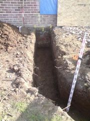 Dig out footings