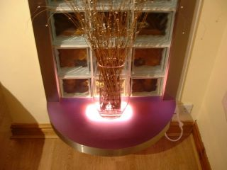 Perspex illuminated by LED's