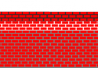 re-pointing wall