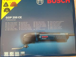 Bosch GOP 250 CE boxed
