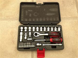 RS components 29 piece socket set