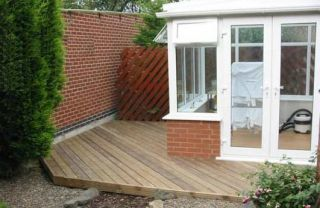 conservatory deck