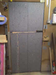 insulated metal door