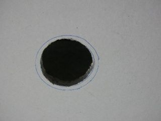 hole in plasterboard