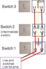 three way switching