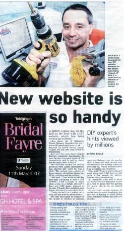 Ultimate Handyman in The Lancashire Telegraph
