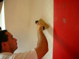 wallpapering brush