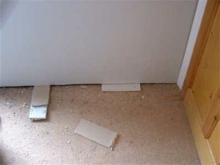pack up plasterboard