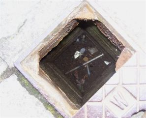 needles in drain