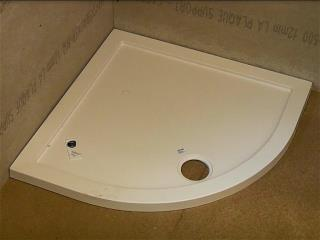 Install shower tray
