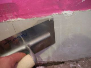 fill plaster holes