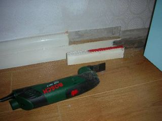 Bosch PMF 180 E cutting skirting board