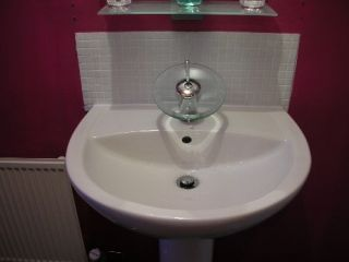 waterfall tap basin