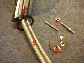 waterfall tap components