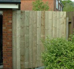 Erect A Wooden Fence Woodworking
