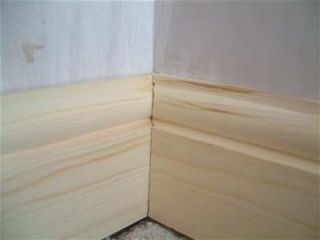 skirting board corner