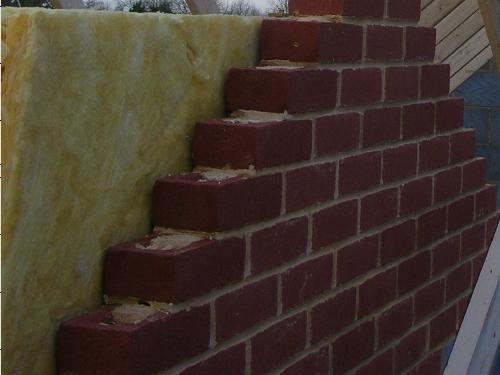Cavity wall insulation insulation for Blown mineral wool cavity insulation