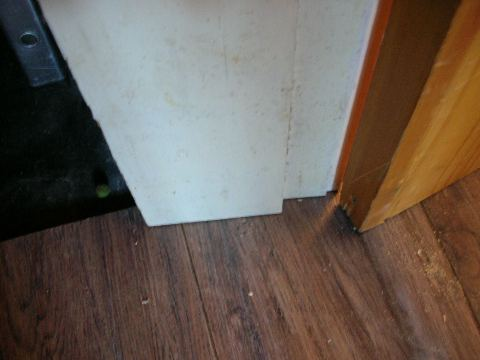 Working Around Door Frames Laminate Floor Fitting