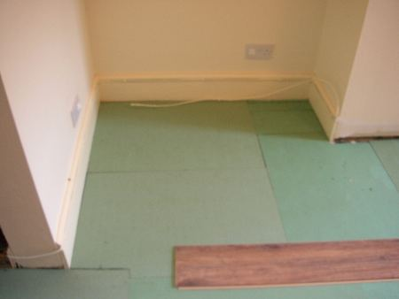 Acoustic underlay for laminate flooring carpet vidalondon for Laminate flooring underlay