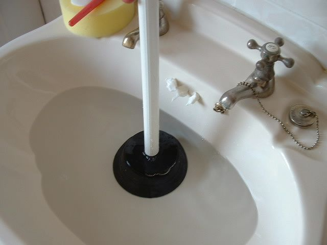 Sink unblocking | Plumbing