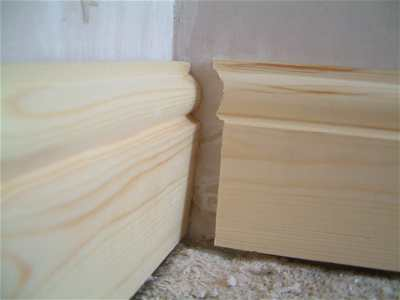 Fitting skirting boards