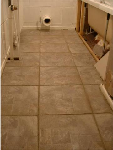 Tiling a floor tiling for Opposite of floor